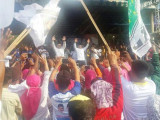 Ribuan Warga Kota Tangerang Hadiri Deklarasi Arief-Sachrudin