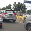 U-turn Transmart Ditutup Cipta Kerawanan Kecelakaan Lalin