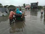 Banjir Besar Putus Jl Vila Tangerang Regency