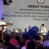 Debat Publik Pilkada 2018, Arief-Sachrudin Diuji Pertanyaan Panelis
