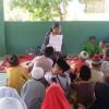 Anak-anak Masjid di Cengkudu Ngabuburit Dengarkan Dongeng