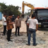 Pekerjaan Molor, Walikota Siap Beri Sanksi Pemborong Jl Garuda