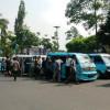 Ratusan Angkot Geruduk Puspem Tuntut Hapuskan BRT Koridor 2