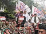 Ribuan Massa Capres 01 Hadiri Karnaval Budaya Akbar