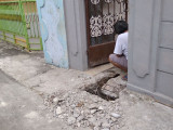 Cuma 50 meter Saluran Mampet, Bikin Susah Warga Sukamanah