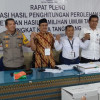 Pleno KPU Kota Tangerang, Prabowo-Sandi 54,7% Jokowi-Amin 45,2%