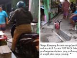 Warga Perintis Keluhkan Drainase Tanpa Tutup Rawan Kecelakaan