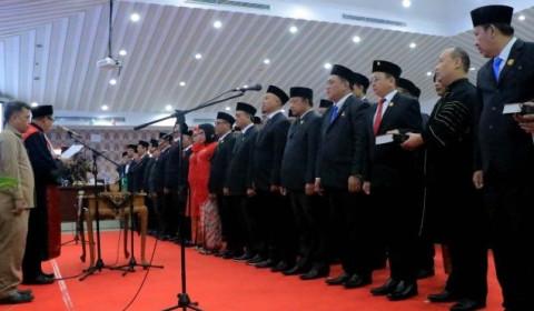50 Anggota DPRD Kota Tangerang 2019-2024 Resmi Dilantik