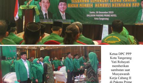 PPP Kota Tangerang Gelar Muskercab II, Siap Bangkit Lagi
