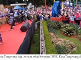 3.000 Warga Semarakkan Senam Sehat DPRD Kota Tangerang