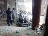 Honda City Seruduk Lobby RS An-Nisa Tangerang Akibatkan 6 Korban