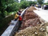 Proyek Saluran Air Jl Jembatan Baru Terseok-seok