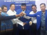 Arief-Sachrudin Terima Rekomendasi dari DPP PAN