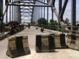 9 Bulan Telantar, Jembatan Kedaung Jadi Lokasi PK-5