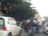 Semakin Rawan Kecelakaan Lalin di Fy-over Kebon Nanas