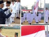 Suasana Hikmat Lingkupi Penaikan Bendera Merah Putih di Jatiuwung