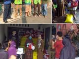 Warga Sukamanah dan Babakan Perintis Bersyukur Terima Paket Sembako