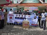 Satgasda DPRD Kota Tangerang Bantu APD kepada 12 Puskesmas
