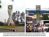 Dua Menara Jam di Kota Tangerang Ngaco