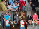 Bansos Dibagi Jelang Lebaran Haji, Disyukuri Warga Kampung Sukamanah