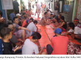 Warga Kampung Perintis Bergembira Rayakan Kurban