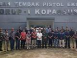 PWI & Jajaran Pers Banten Silaturahim ke Kopassus Serang