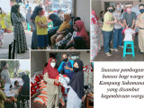 Lagi, Warga Kampung Sukamanah Gembira Terima Bansos