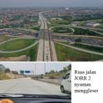 WAH sekarang ke Kota Tangerang Selatan cepat, mobil bisa melewati JORR 2 yang menghubungkan Bandara Soetta, Kota Tangerang sampai Sawangan.