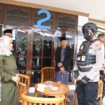 Jelang pelaksanaan Pilkades, Kapolresta Tangerang Kombes Pol Wahyu Sri Bintoro memimpin Tim Pendekar Raksa melaksanakan Patroli Skala Besar.